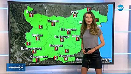 Прогноза за времето (09.02.2020 - обедна емисия)