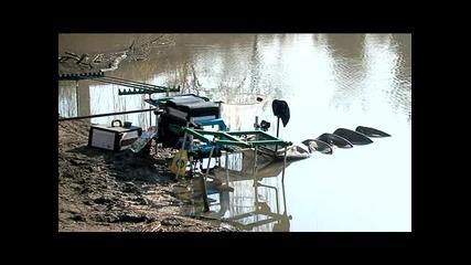Риби и такъми - Риболов - Перки и каракуди на яз.калето (част 2)
