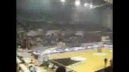 Феновете На Паок На Баскетбол (8000 Paokara Fans)