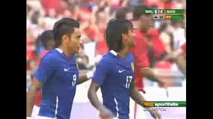 Malaysia Xi 1 - 2 Man Utd Amri Yahyah
