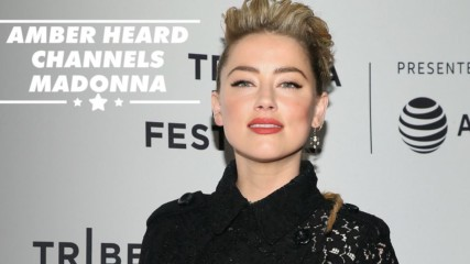 Amber Heard dares to bare in sheer couture at Tribeca Film Festival