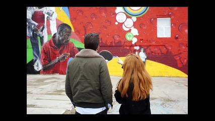 Химн Олимпиада 2012! Katy B Mark Ronson feat. Рафи, Ангел Моисей и Криско - Навсякъде по света