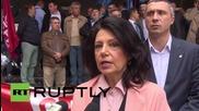 Serbia: 'Patriotic block' rally against PM Vucic's government in Belgrade