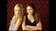 *miley Cyrus and Ashley Tisdale *