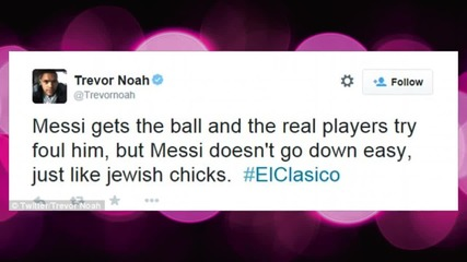 Daily Show Replacement Trevor Noah Accused of Anti-Semitism Over Tweets