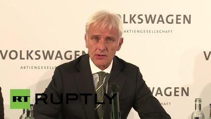 Germany: Matthias Mueller named Volkswagen Chief Executive