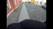 Парашутен скок от Петропавловската катедрала