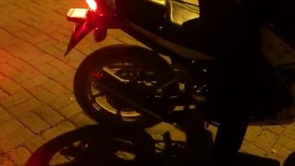 Honda Cbr 125 R пили гуми