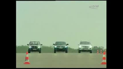 Vw Touareg Vs Bmw X5 Vs Mercedes ML