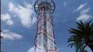 Най-високото влакче в увеселителен парк в света