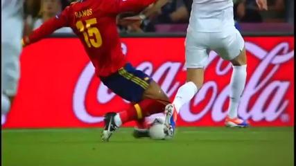 Евро 2012 - финалните надписи на Bbc