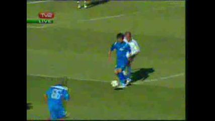 Славия 0 : 1 Левски гол на Зе Соареш