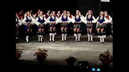 Танцов ансамбъл Пъстрина:копаница - женско соло