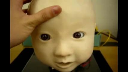 Кибернетичното бебе Affetto