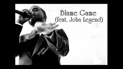 Kanye West - Blame Game (feat. John Legend) [ My Beautiful Dark Twisted Fantasy]