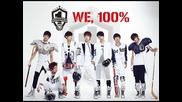 100% - We, 100% - Single album · 18 September, 2012