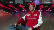 F1 show 2015 - Sebastian Vettel Interview -we Aim to Achieve Second Place Behind Mercedes