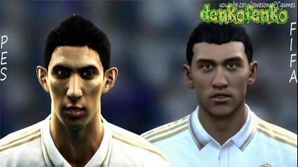 Огромна ли е разликата м/у Fifa 12 и Pes 12 ? ? ? ( Real Madrid )
