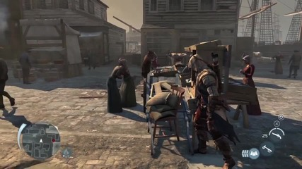 Assassin's Creed 3 - boston Demo Commented Walkthrough Trailer