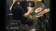 One of the Fastest Double bass Drummer in Asia - Feet Speed 1160 Part 1