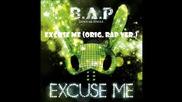B.a.p - Excuse Me - 4 Japanese Single type B Full [2014.09.03]
