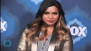 Mindy Kaling Shows Off Her Body and Lots of Skin in Sexy One-Pice Swimsuit