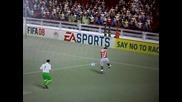 Fifa 08 - Аматьорска грешка на вратар