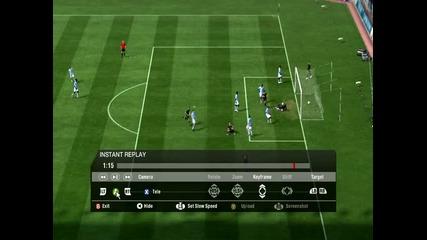 Fifa 11 Страxoтен Гoл на Raul Meireles