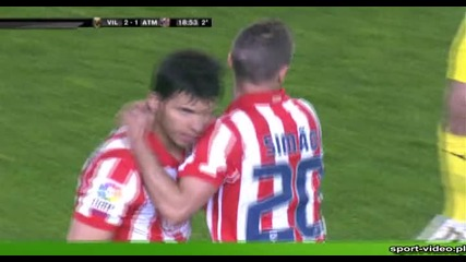 17.04 Villarreal 2:1 Atletico - Kun Aguero goal