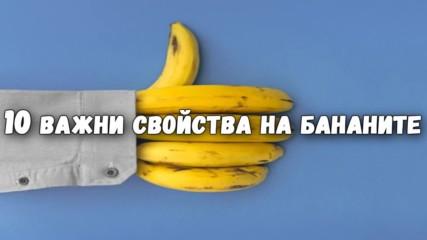 10 важни свойства на бананите
