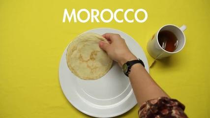 Закуската в страните по света