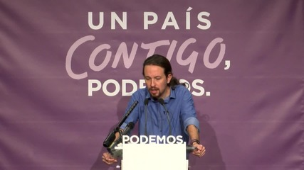Spain: Never again will Spain be a 'periphery of Germany,' says Podemos' Iglesias