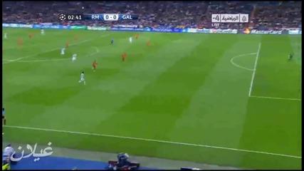 Фамозен пас на Xabi Alonso към Di Maria, Реал Мадрид 3:0 Галатасарай