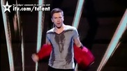Извънземен танцьор Tobias Mead - Полу - финал Britains Got Talent 2010