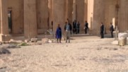 Greece: Obama tours the ancient Greek Acropolis on final day of visit