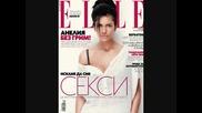 Анелия се снима без грим и фотошоп за корицата на списание Elle