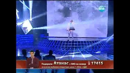 X Factor Атанас Колев Live концерт - 28.11.2013 г.