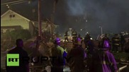 USA: Huge blast levels a home in St. Louis