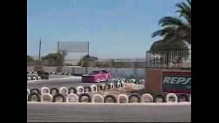 Pambos drift - Bmw M3 E30 Drifting