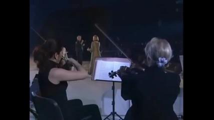 Kemal Monteno i Gabi Novak - Ti si bila pravi zivot moj - (LIVE) - (Skenderija 2003) - (FTV)