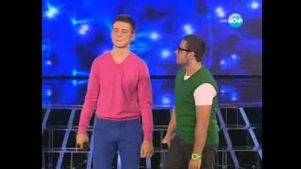 Мойсей и Ангел разбиха публиката X Factor