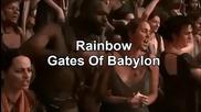 Превод - Rainbow - Gates Of Babylon