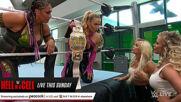 Natalya & Tamina's war of words with Mandy Rose & Dana Brooke leads to a brawl: Raw, June 14, 2021