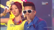 Mighty Mouth feat. Soya - Bad boy @ Music Bank (11.05.2012)