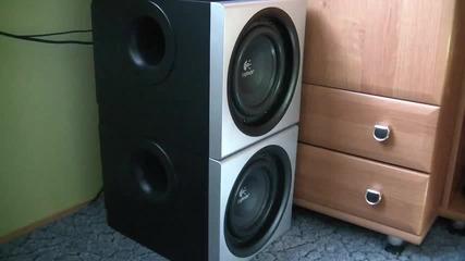 2x Logitech z-2300 Bass Flex