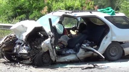 Млад мъж загина при катастрофа край Благоевград