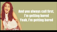 Cher Lloyd - Dirty Love (lyrics)