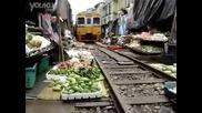 Банкок-тайланд -подвижен пазар Такова не сте виждали - Смях