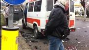 Серия от тежки катастрофи в София, двама загинаха