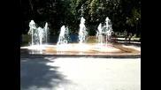 Пазарджик - фонтаните на Остров Свобода - 30 август